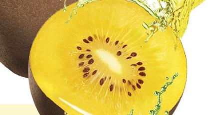 Kiwis amarillos, un aporte extra de nutrientes saludables