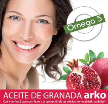 Complemento alimenticio de aceite de Granada ArkoPharma uso interno (1 cápsula ald día)