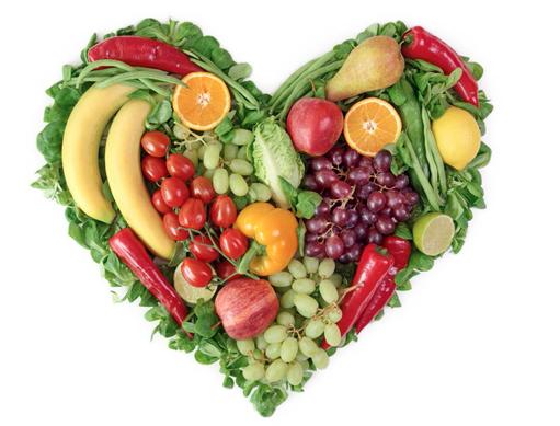 El código de color de los alimentos para la belleza