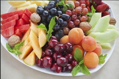 Mascarillas caseras con frutas de verano