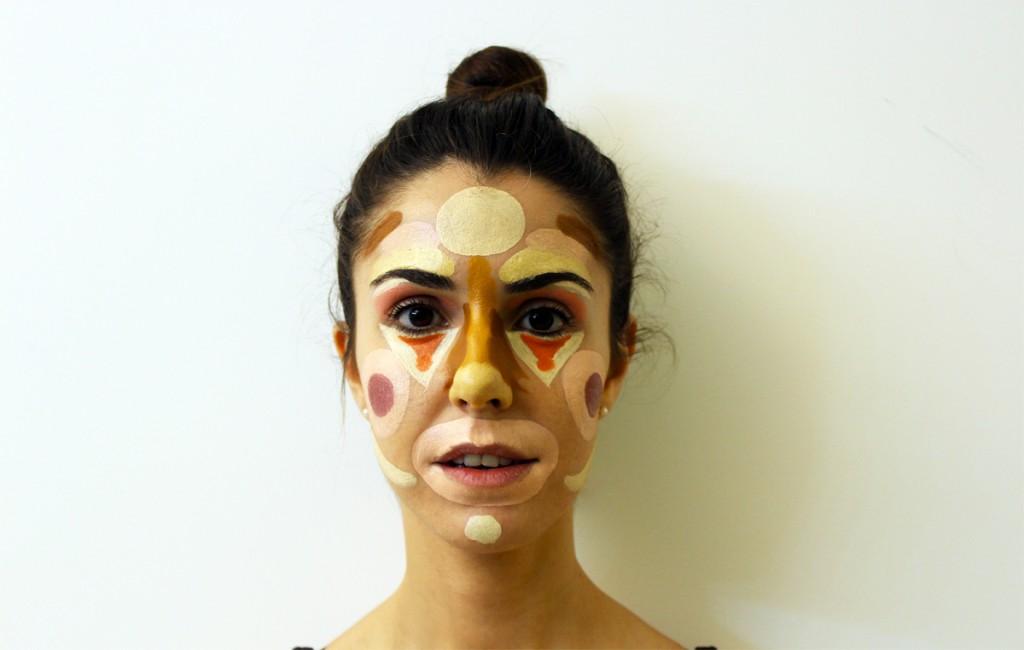 Esther-Palma-Comunicacion-Mery-Make-Up-Clown-Contouring-tecnica-maquillaje-Antes