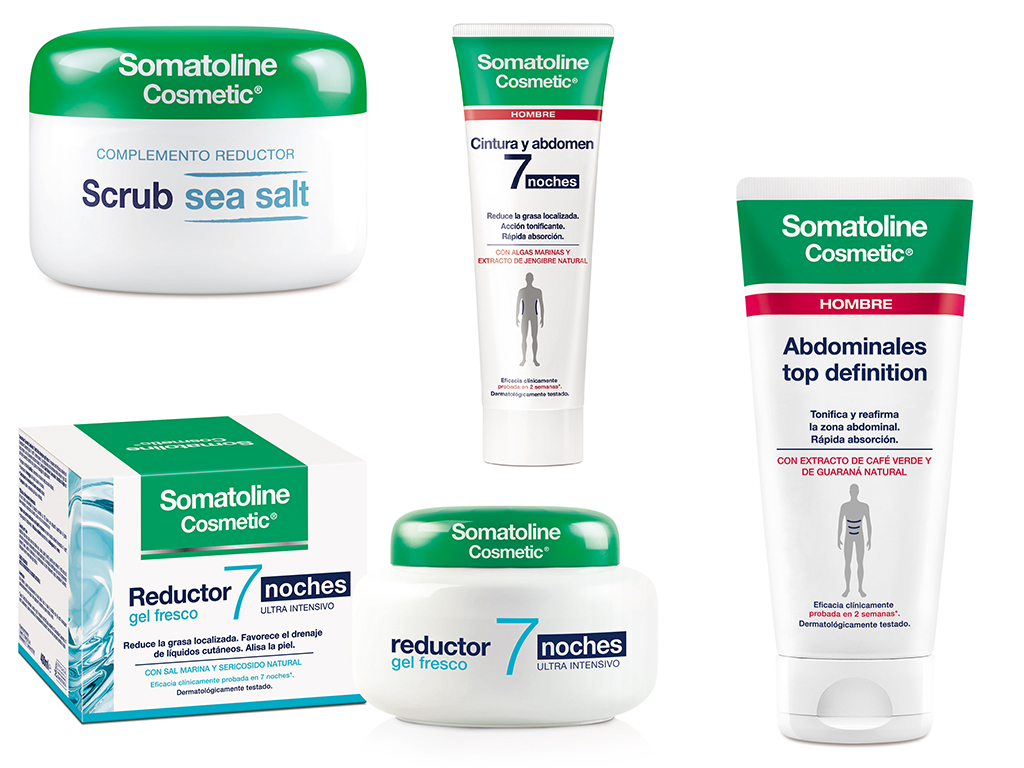 bodegón de productos Somatoline