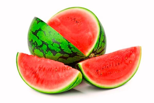 Sandía rica en vitaminas, minerales y antioxidantes