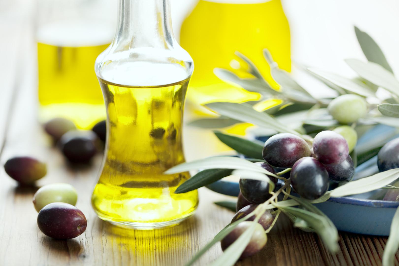 Cinco beneficios del aceite de oliva