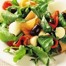 Cena saludable con proteínas