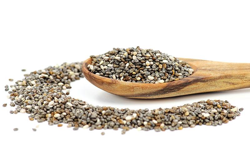 Omega 3 y mucílagos con semillas de chia