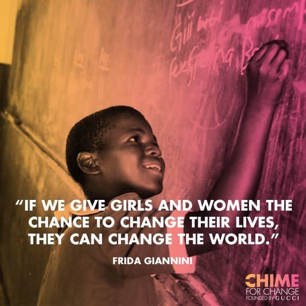 Chime for change - Día Internacional de la mujer