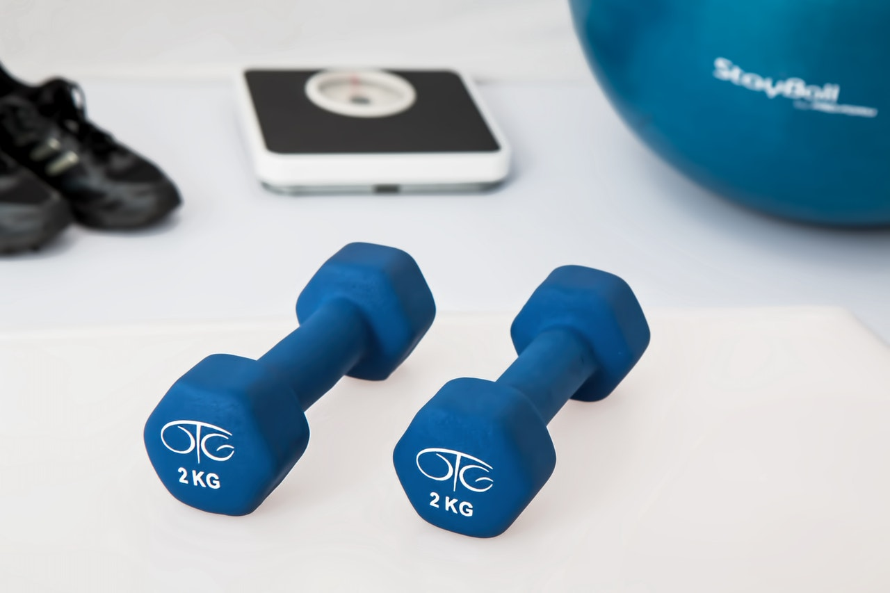 pesas para fortalecer en casa
