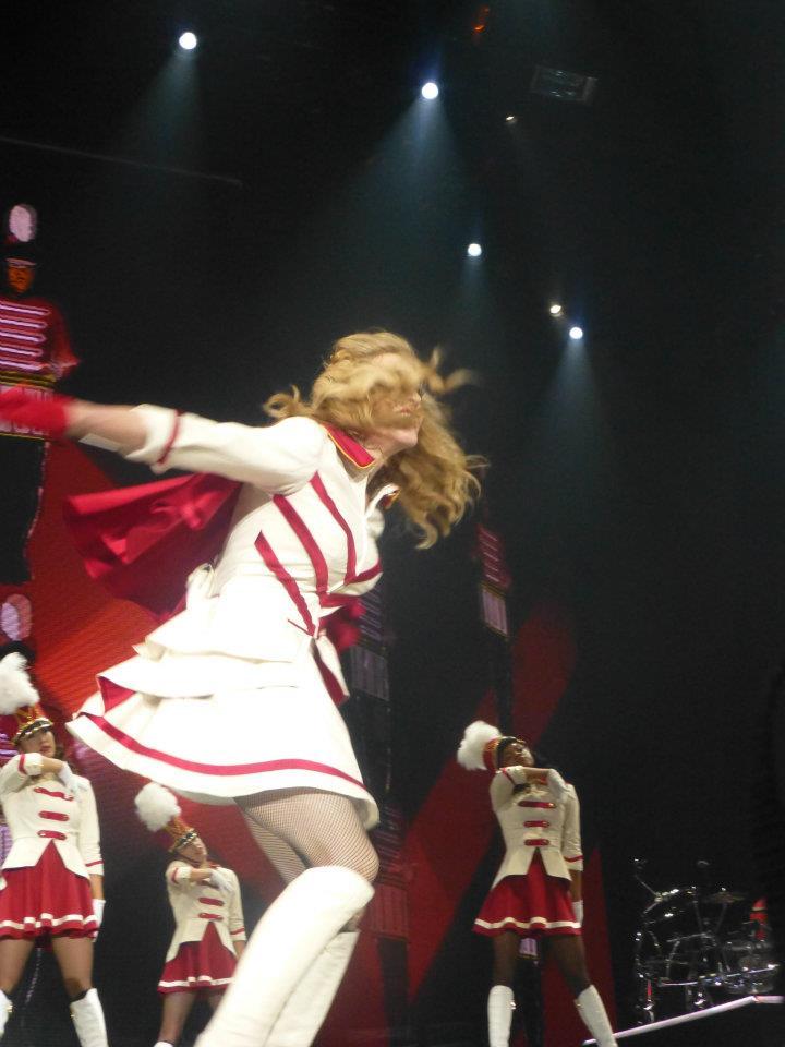 Crónica del Concierto de Madonna en primera fila