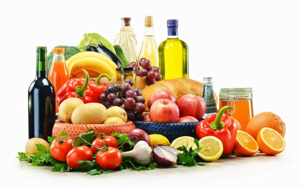 minerales y vitaminas en alimentos