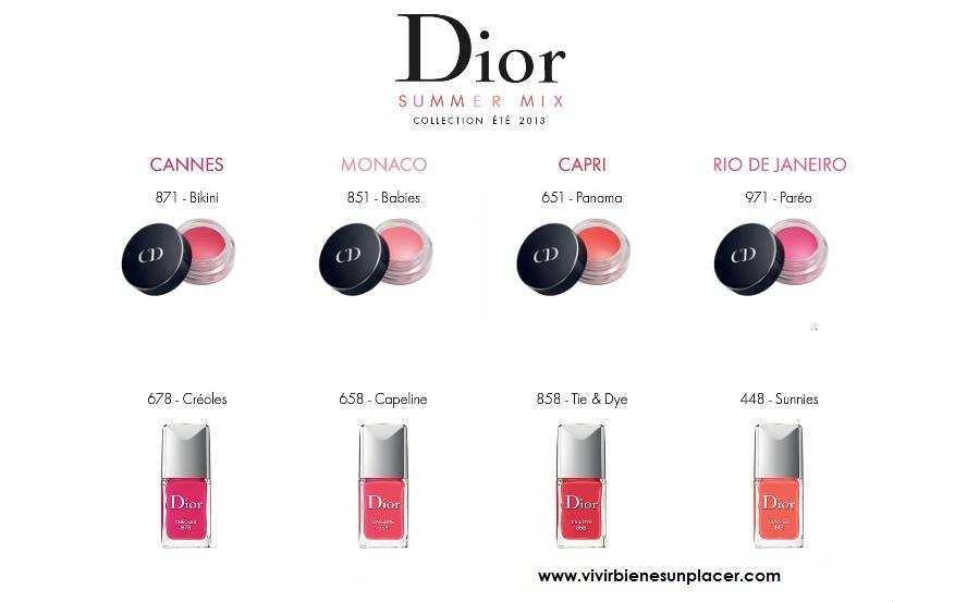 La propuesta Dior para este verano: Bird of Paradise y Summer Mix 2013