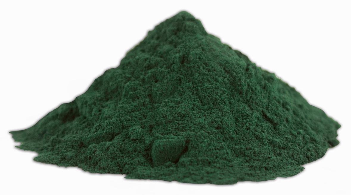 Espirulina un alga verdiazul con proteínas y nutrientes