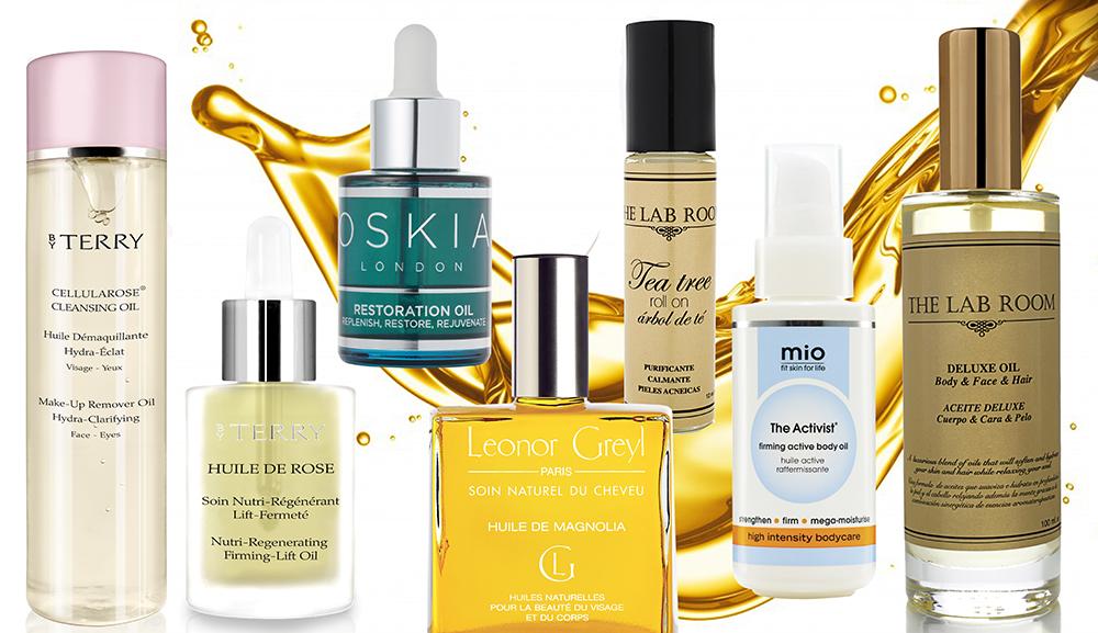 Aceites en cosmética que triunfan en rostro, cuerpo y cabello
