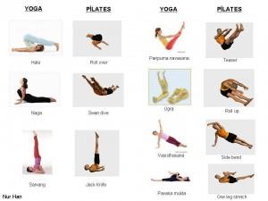 Comparando el yoga tradicional y Pilates