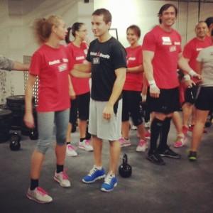 Entrenando en Reebok CrossFit Barcelona con Jorge Lorenzo