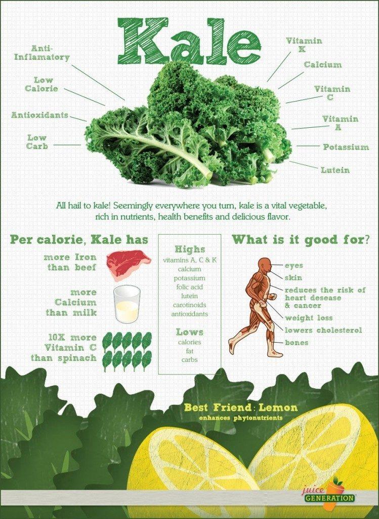 KALE, un súper alimento verde