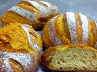 Pan elaborado con trigo Kamut de Roca Fariners