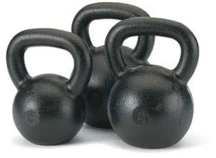 Pesas Kettlebells, combinación de fuerza y flexibilidad