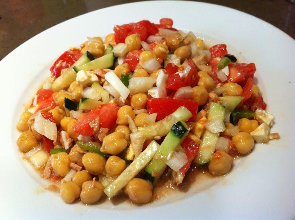 Ensaladas con legumbres: Nutritivas y saludables sin engordar