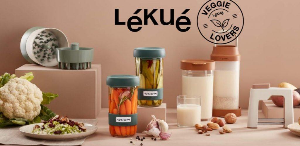 Lékué veggie fans lovers cook novedades