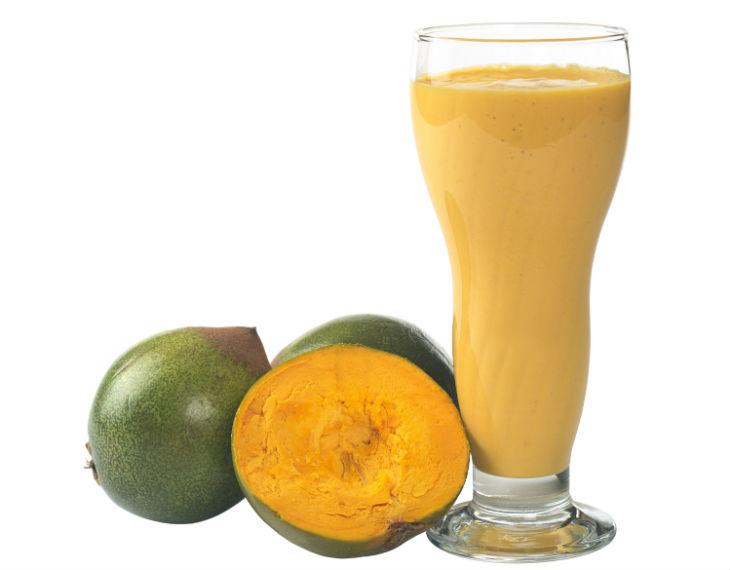 Lúcuma, rica en fibra, antioxidante y remineralizante