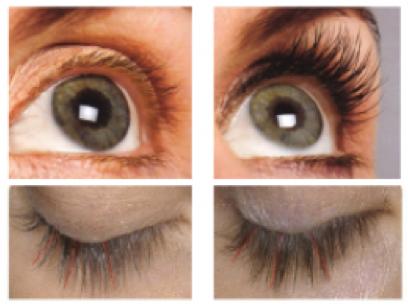 Maquillaje para ojos con efecto lifting