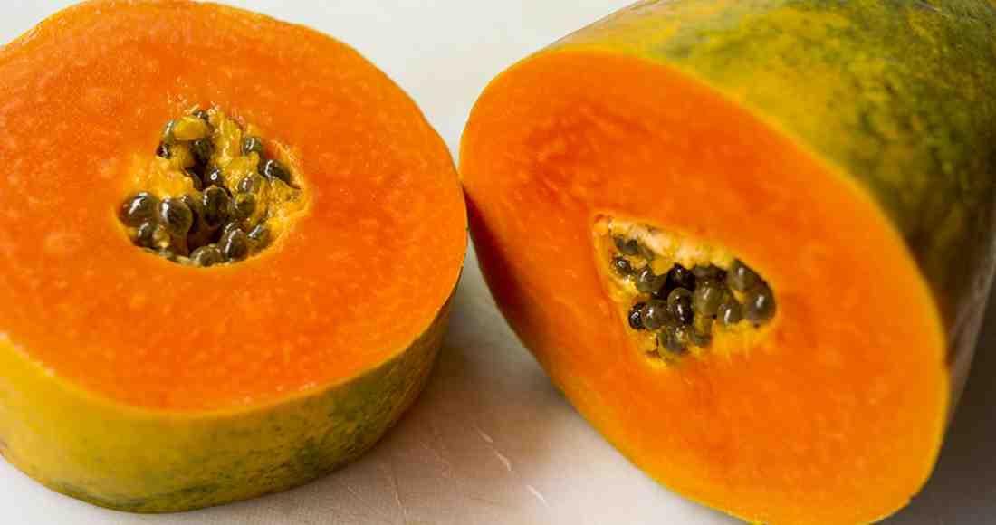 Papaya, enzimas nutritivas para la salud y piel