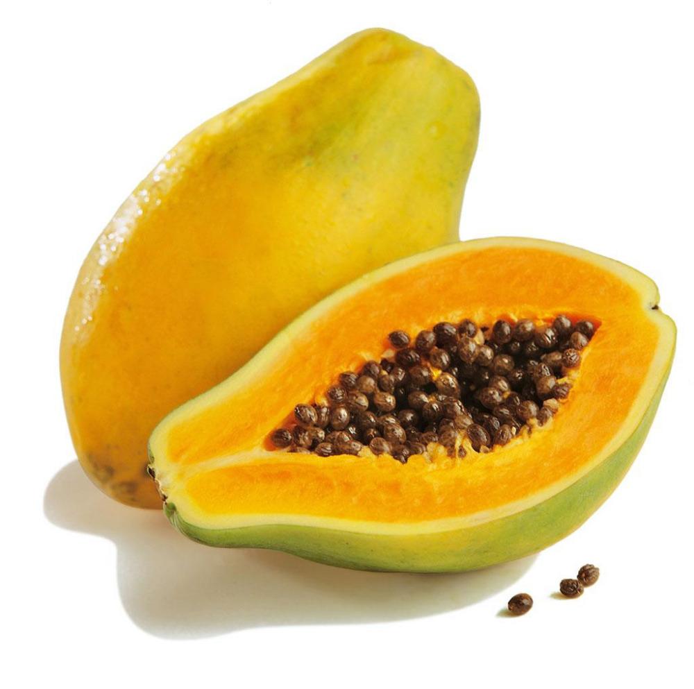 Papaya, papaína, enzimas y su efecto sobre la salud