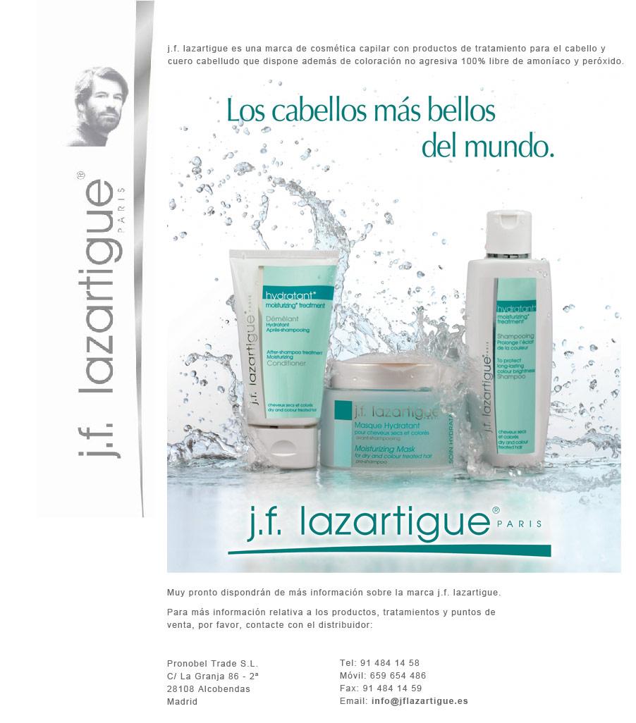 Cómo reparar el cabello con J.F. Lazartigue tras las vacaciones de verano