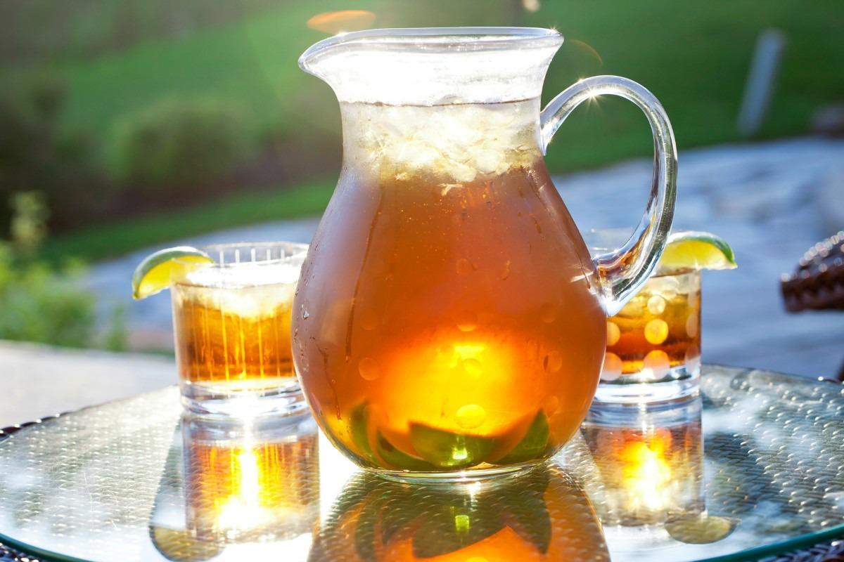 Sangría de té negro: una bebida súper refrescante y nutritiva