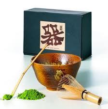 Matcha, un té verde japonés molido rico en antioxidantes