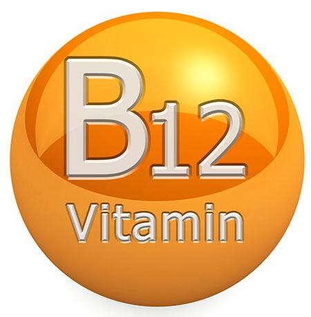 Vitamina B-12, debilidad, estrés y alimentos