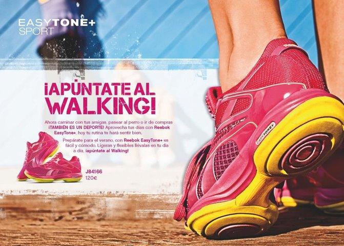 ¿Practicas el walking? Con easytone